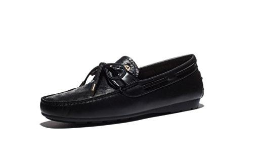 OPP Homme Moccassins Suède en Cuir Plats Slip-on Loafers Loisirs Chaussures de Conduite
