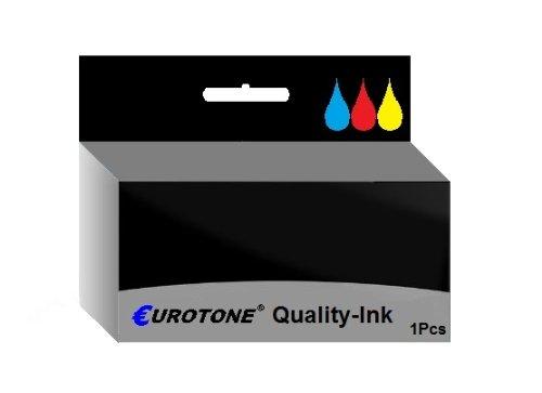 Tinten Patrone für Canon Pixma MP630 MP640 MP640R MP980 MP990 - ersetzt 1x CLI-521 Photo-Black 10,5 ml Drucker Patronen - kompatible Premium Alternative - non oem