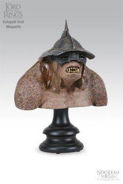 Sideshow Collectibles - Le Seigneur des Anneaux buste Catapult Troll 23 cm