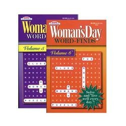 Bazic Womans Day Word Finds Puzzle Book by Kappa