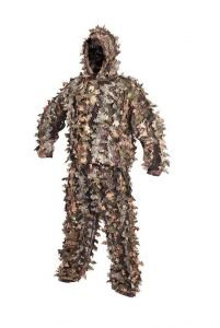 M/L Size Ghillie Suit Light Leaf Concealment System LLCS - Hunting Shooting Softair Paintball Lamping Fox Shooting and Deer Stalking