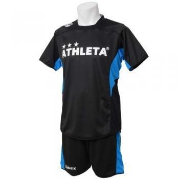 () サッカー ウェア ATHLETA アスレタ リバーシブルプラクティス上下セット S BLACK/GRAY