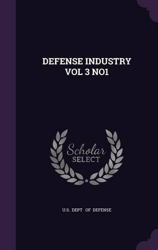 DEFENSE INDUSTRY VOL 3 NO1