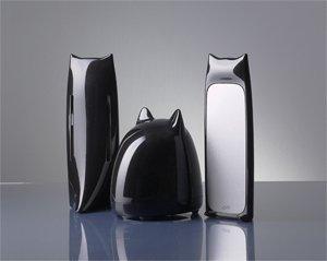 ブライトンネット 2.1チャンネルマルチメディア黒猫スピーカー2(2.1ch multimedia CatSpeaker 2 for iPod/MP3)
