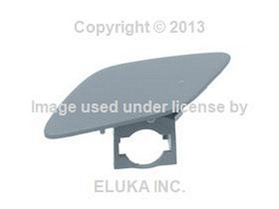 BMW Genuine Cover Flap - Headlight Washer on Bumper Cover (Primered) Front Left for 328i 328xi 335i 335xi 328i 335i (Front Bumper Cover Bmw compare prices)
