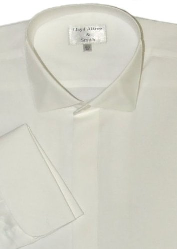 Victorian Wing Collar Dress Shirt Ivory
