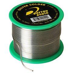 Dayton Audio SLDR-S4P-8 4% Silver Solder 1/2 lb. Spool