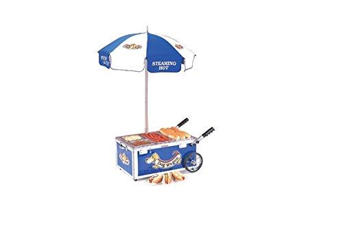 NEMCO MINI CART, BLUE Model 6550-DW (Nemco Hot Dog Steamer compare prices)