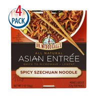 Dr. McDougall's Asian Entree Spicy Szechuan Noodle -- 2 oz Each / Pack of 4 from Dr. McDougall's
