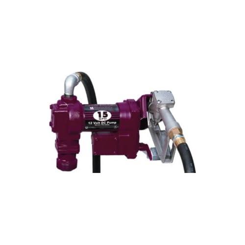 Rite 1210C Heavy Duty 12 VDC Fuel Transfer Pump, 15 GPM Automotive