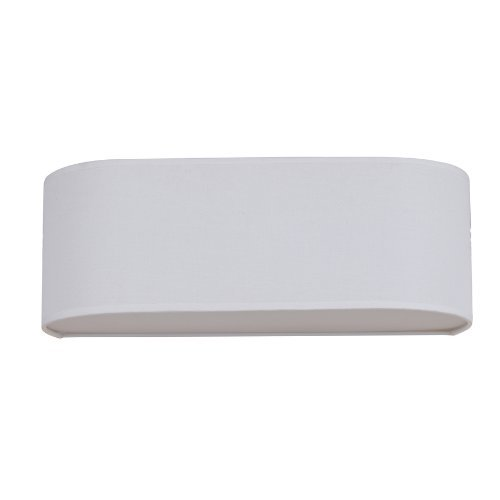 Catalina Vanity Light Refresh Kit : Catalina 7-inx21-in White Linen Fabric Bathroom Vanity Light Refresh Kit. Fits Over a 3 light ...