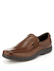 Airflex™ Comfort Leather Elasticated Tramline Shoes