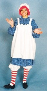 Raggedy Ann Adult Costume Size Standard