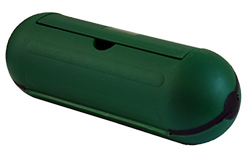 Hot Headz Extension Cord Safety Seal Water Resistant Cord Cover, 8.25 x 3 x 3-Inch, Green (Cord Protector Cover compare prices)