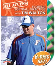 Tim Walton: All Access Florida Softball Practice (DVD) by Championship Productions