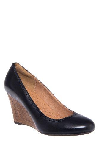Clarks Artisan Purity Snow High Wedge Pump