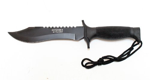 "12"" Heavy Duty Army Survival Knife With Sheath"