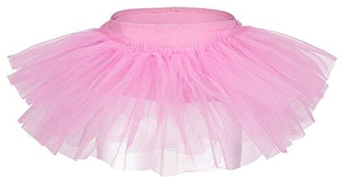 """tanzmuster Tutu Ballettrock """"Pia"""" für Kinder. Ein Ballettröckchen, das aus jedem Ballett Trikot sofort ein Tutu zaubert, in den Farben rosa, weiß, schwarz, hellblau, pink und lila."""