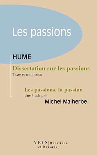 amour passionne dissertation