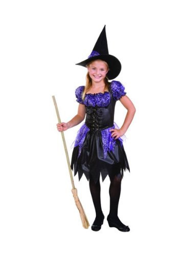 RG Sparkle Witch Halloween Costume Dress Child