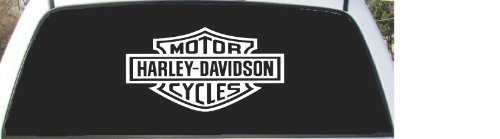Harley Davidson Shield Rear Window Decal Sticker 16