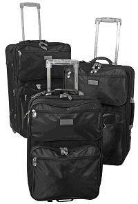 PM OSLO Nylon-Kofferset, 3tlg.