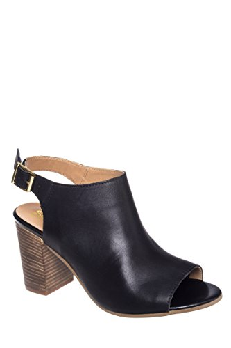 Follow Peep Toe Mule