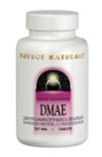 Source Naturals Dmae, 351Mg, 50 Tablets