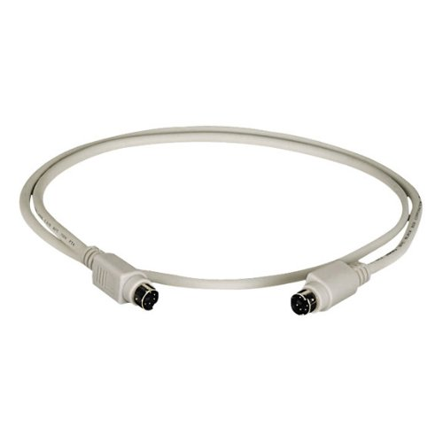 6-Pin Mini Din Cable (Cl2), Female/Female, 25-Ft. (7.6-M)