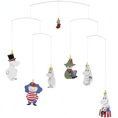 Flensted Mobiles Nursery Mobiles, Moomin - 1