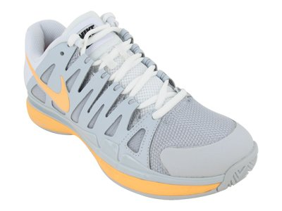 Nike Women's NIKE ZOOM VAPOR 9 TOUR WMNS TENNIS SHOES 7.5 Women US (PURE PLATINUM/MELON TINT/WHITE) (Vapor Tour 9 compare prices)