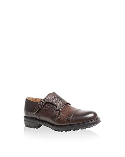Baldinini Zapatos Monkstrap Pardo