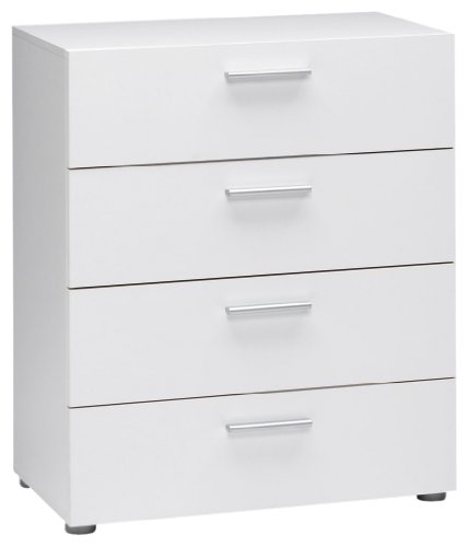 Tvilum Austin 4-Drawer Dresser, White
