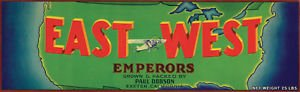 LanLan EAST COAST AIRPLANE EMPERORS EXETER CRATE REPRO SMALL