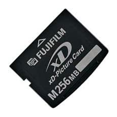 256MB xD Picture Card M Type Fuji DPC-M256 (BWV)