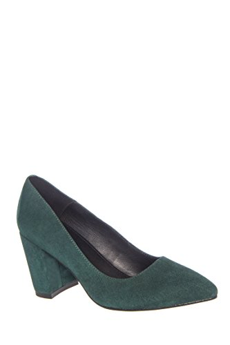 Saida Mid Heel Pointed Toe Pump