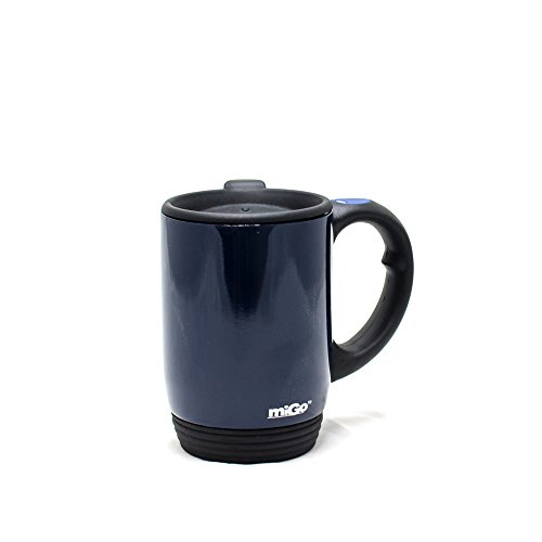 Migo Double-Wall Stainless Steel Thermal Mug 12Oz Blue