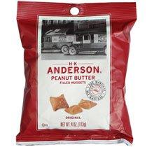 Amazon.com: Original Peanut Butter Filled Pretzel Nuggets 4 Oz. Bag ...