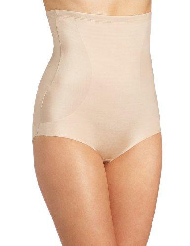 Bali Women's Powershape Lux Hi Waist Brief, Nude, X-Large