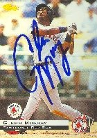 Glenn Murray Pawtucket Red Sox - Red Sox Affiliate 1994 Classic Autographed Hand... by Hall of Fame Memorabilia