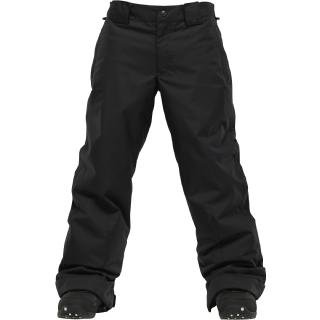 Burton Boy's White Collection Such A Deal Snowboard Pants