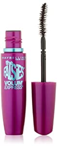 Maybelline New York The Falsies Volum' Express Washable Mascara, Very Black, 0.25 Fluid Ounce