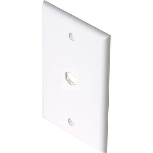 Steren 1 Socket Tv/Phone Faceplate - Kv7161