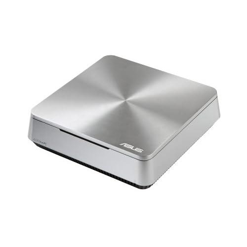 ASUS ミニパソコン VIVOPC VM42 ( Win8.1 64bit / Celeron 2957U / 2GB / HDD 500GB / シルバー ) VM42-S009V