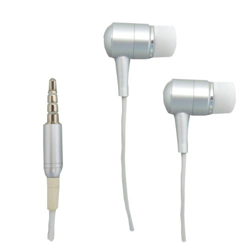 High-Life Snowfire Shredphones Iphone / Ipod Replacement Stereo Headset With Mic / Headphones - White