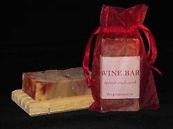 Soap - Wine Bar Soap Harvest Crush Syrah By the Grapeseed Co