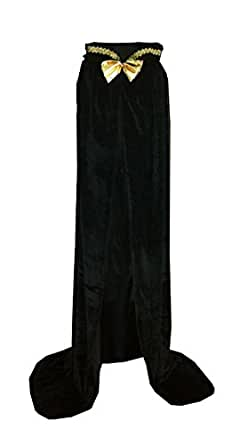 Unisex-child Halloween Costumes Wizard Cloak God of Death Cape Witch Robes Black