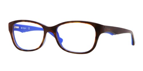 Vogue Vo2814 Eyeglasses-2106 Tio Dark Havana Blue-51Mm