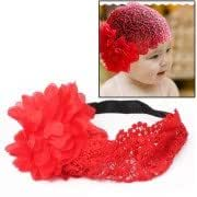 Fashion Girls Infant Tulle Lace Headwear / Flower Hair Band / Lovely Princess Hairband