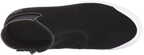 Lacoste Women's Lancelle Chelsea 416 1 Spw Fashion Sneaker, Black, 7 M US